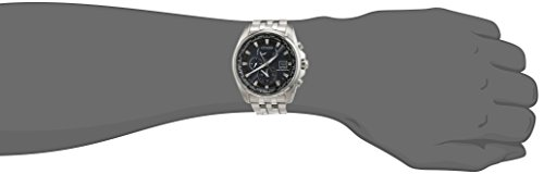 Citizen Herren-Armbanduhr Analog Quarz Edelstahl AT9030-55L -