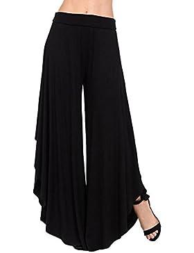 Juleya Pantalones Yoga Mujer Pantalones Casual Cintura Alta Bloomers cómodos Suaves Pantalones de harén Sueltos...