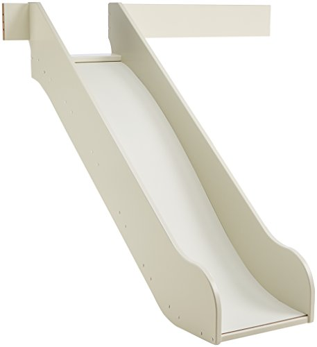 Steens For Kids Rutsche für Kinderbett, Hochbett, inkl. Absturzsicherung, 145 x 112 x 141 cm (B/H/T), MDF , weiß