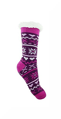 ladies-purple-and-white-chunky-thermal-knitted-fluffy-fleece-lined-fairisle-slipper-socks-inspiratio