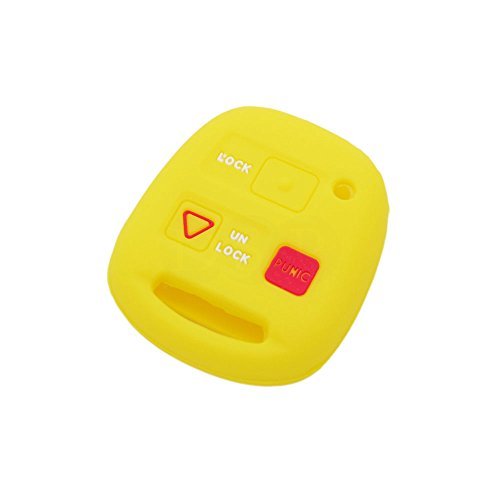 fassport-silicone-cover-skin-jacket-fit-for-lexus-3-button-remote-key-cv4451-yellow