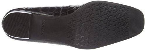 Van Dal Edendale Damen Pumps Schwarz (Black Patent Croc)