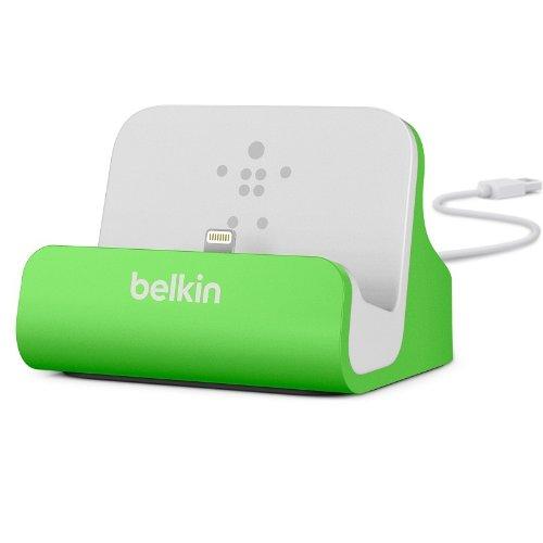 Belkin Lightning Lade/Sync-Dockingstation (mFI-zertifiziert, incl 1,2m USB-Kabel, geeignet für iPhone 8, iPhone 7, iPhone 6/6s, iPhone 5/5s/5c, iPhone SE) grün - Generation Grün Ipod 5. Ladegerät