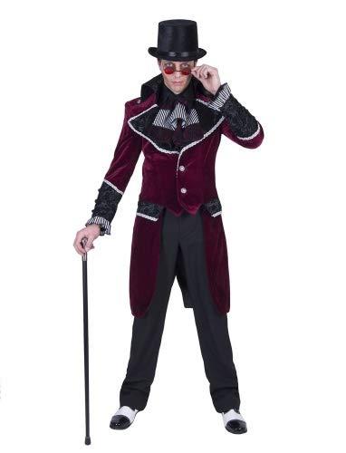Funny Fashion Gothik Ghiyon Kostüm für Herren - Gr. 56 58