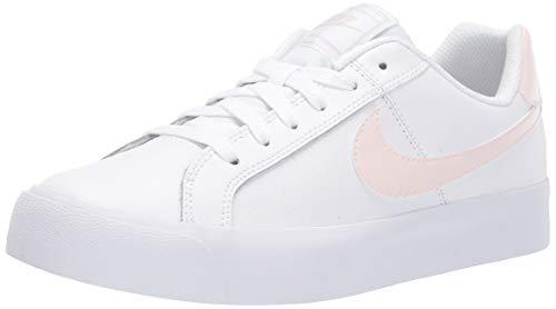 Nike Damen WMNS Court Royale AC Tennisschuhe, Weiß (White/Light Soft pink 110), 42 EU