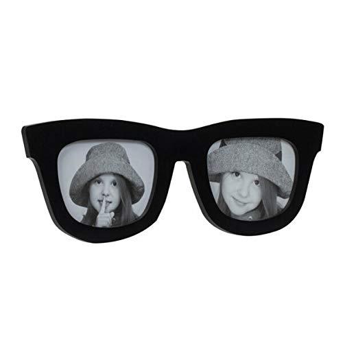 Nektar Schwarze Brillengestell - Große Größe