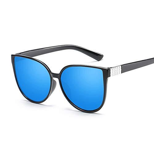 WWVAVA Sonnenbrillen Neue mode niedlich sexy damen cat eye sonnenbrille frauen vintage luxusmarke kleine sonnenbrille weiblich, schwarz