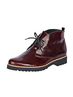 SALE - GABOR comfort - Damen Boots - Schwarz Schuhe in Übergrößen Rot