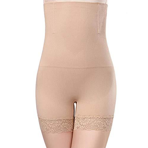 love+djl Hohe Taillenformungshose,Womens Schwarze Haut Hohe Taille Shorts Slim Lift Form Hosen Einfarbig Jeden Tag Bauch Kontrolle Body Shaper Girdle @ M -