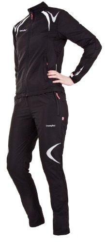 Twentyfour Motion Veste d'entraînement Femme - Veste légère en microfibre noir