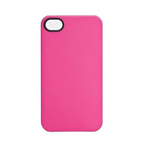 Xqisit 11582 Coque iPlate Mat pour iPhone 4/4S Blanc Blanc