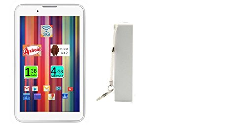 Ikall K1 Tablet (7 Inch, 4gb, Wi-fi+ 3g+ Voice Calling), White