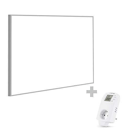 TROTEC TIH 900 S Infrarot-Heizplatte Infrarotheizung Heizpaneel 900 Watt inkl. Steckdosen-Thermostat BN30