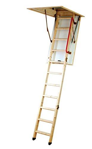 Escalera para desván Youngman madera