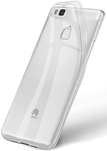 ONEFLOW® Bester Grip - Fast unsichtbar, federleicht & super dünn | rutschfeste Schutzhülle aus Silikon passend für Huawei P9 Lite, Kristall-Klar