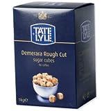 Tate & Lyle Rough Cut Brown Cubos de azúcar - Caja 1kg