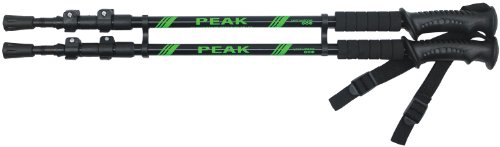 Yellowstone Peak Trekking Pole Pair - Black