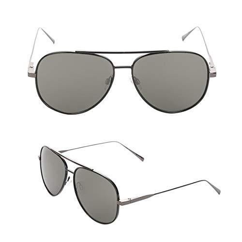 Polarisierte Sonnenbrille Ultralight Pilot Herren Vintage Metallrahmen