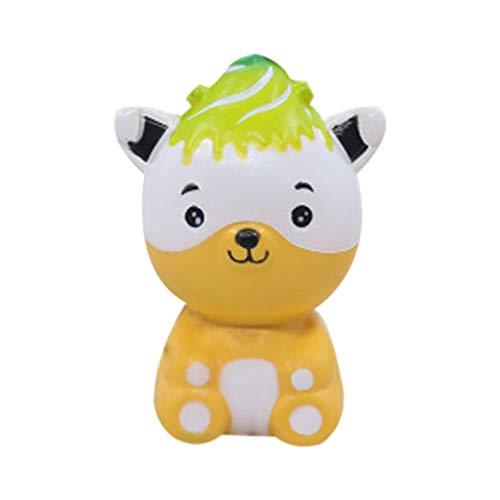 Auied Lernspielzeug Stressabbau Simuliert Niedlichen BäRen Duftende Langsam Steigende Kinder DrüCkbare Spielzeug Dekompressionsspielzeug