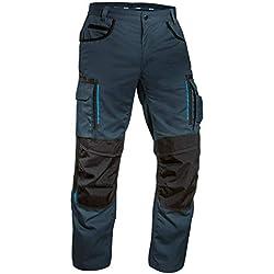 Uvex Tune-Up Pantalons Longs de Sécurité - Pantalon Cargo - Bleu Foncé - TL. 50