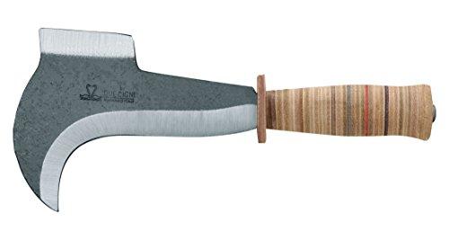 Aufgrund CIGNI 2C 261/18billhooks mit Leder, Holz, 18cm