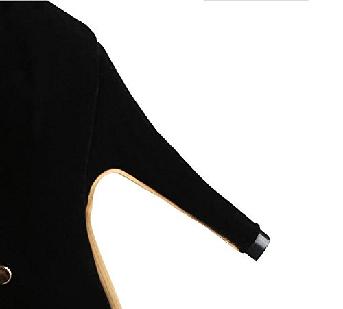 Beauqueen Pumps Mesh Wildleder Sandalen Peep-Toe Stiletto Ferse Lace-up Frauen Büros Casual Elegant Sandalen Customized Europa Größe 33-46 Red