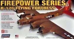 B-17g Flying Fortress Air Plane 1:64 Scale Plastic Model Kit by Lindberg (Kit 17 Model B)