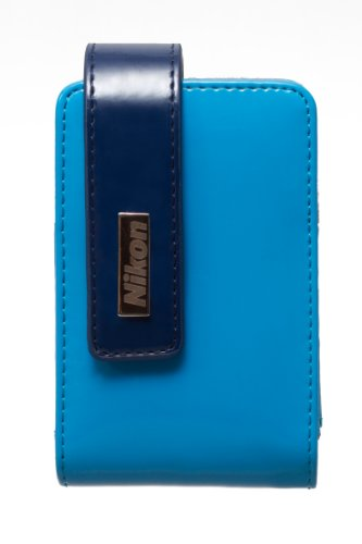 Nikon CS-S30 Tasche für Coolpix S2500/3100/4100 blau (S2500 Nikon Kamera)