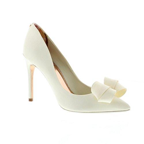 Ted Baker Damen Skalett Geschlossene Ballerinas Weiß (Ivory #ffffff)