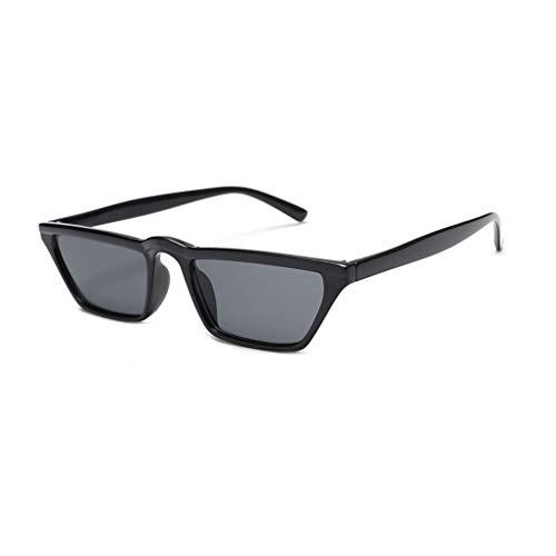 Providethebest Frauen Schmaler Rahmen rechteckig Sonnenbrillen UV400 Shades Small Square Sonnenbrille Damen Outdoor-Aktivitäten Brillen