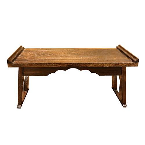 GYM Nachttisch Massivholz Bay Fenstertisch Niedriger Tisch Home Bett Computertisch Couchtisch Faltbarer Balkon Quadratischer Tisch Tatami Niedriger...