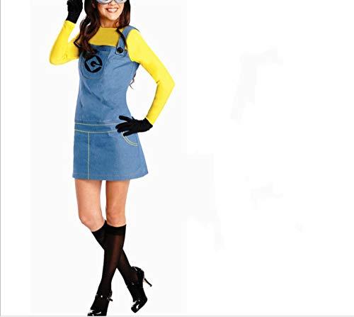 Mitef Little Yellow Men Corps Halloween Cosplay - - - Despicable Me Damen Kostüm
