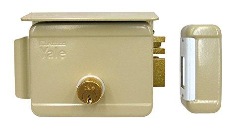 Cerradura eléctrica de sobreponer para puertas Art. 680con pestillo