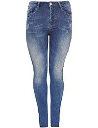 93db2c8cb76 Amazon.fr   Yoek - Jeans   Femme   Vêtements