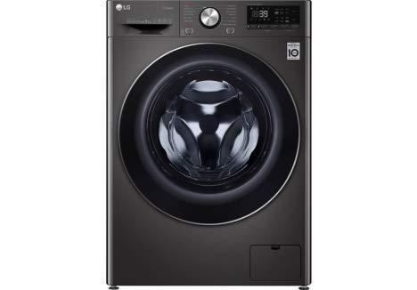 LG TURBOWASH 360 WITH AI DD V9 F4V909BTS WIFI-ENABLED 9 KG 1400 SPIN WASHING MACHINE BLACK STEEL