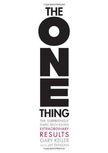 Buchseite und Rezensionen zu 'The One Thing' von Gary Keller