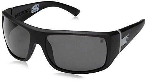 Dragon Alliance Vantage matt P2Sonnenbrille Einheitsgröße H2o/Grey Ion - Für H2o Dragon Männer Sonnenbrille