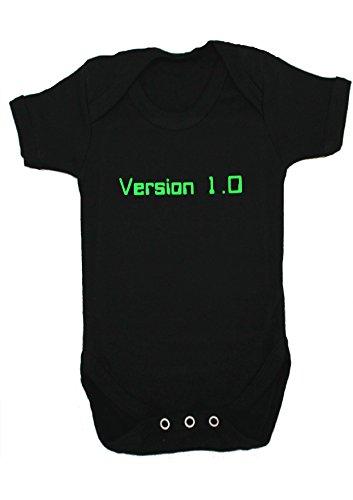 geek-nerd-versione-10-funny-completino-body-da-bebe-moo-beige-black-3-6-mesi