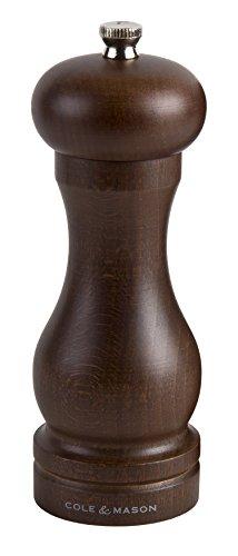 Cole&Mason Forest Capstan Molinillo de Pimienta, Madera, 165 mm