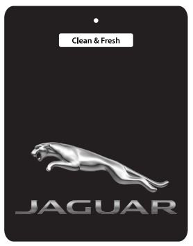 5 for £10 DEAL! - JAGUAR Car Air Freshener BLACK SERIES - Daimler, E-Type, S-Type, XJ, XJ12, XJ40, XJ6, XJ8, XJR, XJS, XK, XK8, XKR, ALL JAGUAR
