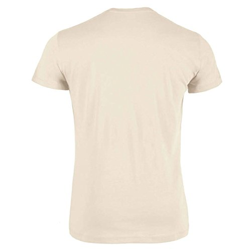 Iota Herren T-Shirt Big Logo Tangle Hodl Krypto 2018 to The Moon Beige-Schwarz XXL - 2