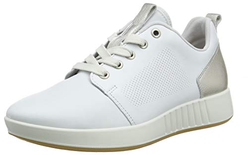 Legero Damen Essence Sneaker, Weiß (White) 10, 38.5 EU