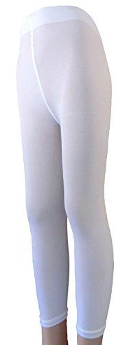 Lady Kama - legging bien long 40 DEN pour Enfants .Neuf - blanc, 116/122=5-6 ans
