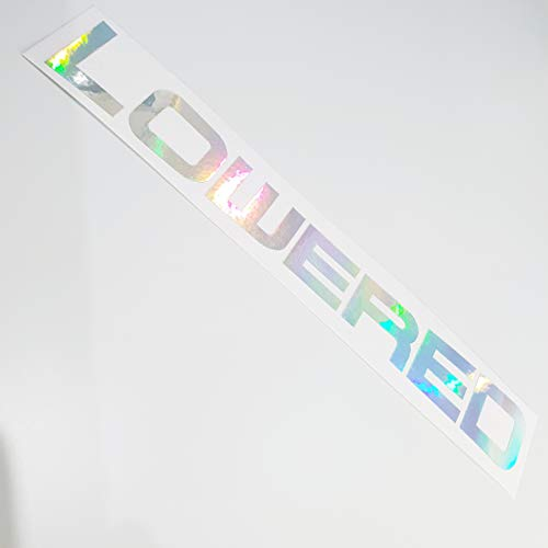 folien-zentrum Lowered Metallic Effekt Hologramm Oilslick Rainbow Flip Flop Shocker Hand Auto Aufkleber JDM Tuning OEM Dub Decal Stickerbomb Bombing Sticker Illest Dapper Fun Oldschool -