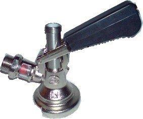 Zapfkopf , Keg - Verschluss , Flach - Fitting , oberer Ausgang - Kelleranstich