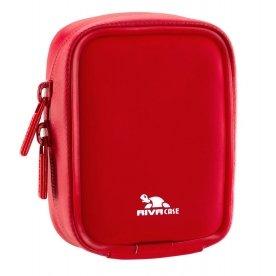 RivaCase 1100Gehäuse Compact rot-Etuis und Bezüge Kameras (Gehäuse Compact, rot, Polyurethan, 109G, 75x 30x 96mm, 80x 45x 105mm) Rot Compact Camera Case