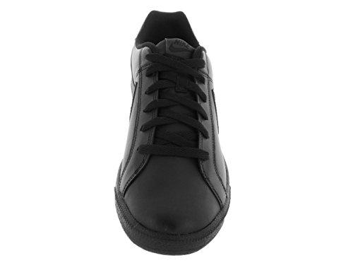 Nike COURT ROYALE Schwarz Leder Herren Sneakers Schuhe Neu