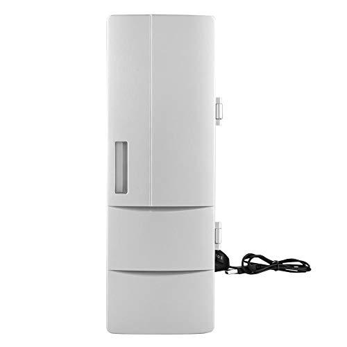 Mini-Kühlschrankkühler Getränkekühler Kühlschrank für Home Office Wohnheim oder Boot Kleiner Mini-Kühlschrank mit Glastür -