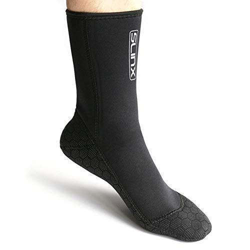 Funihut Tauchen Schwimmen Socken Neoprensocken 3mm Schuhe für Schwimmen, Schnorcheln, Segeln, Surfen,Aquagym