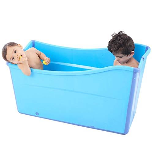 GLokpp Adulto bañera Plegable plástico del bebé Piscina for los niños Baño Barril Hogar Grande...